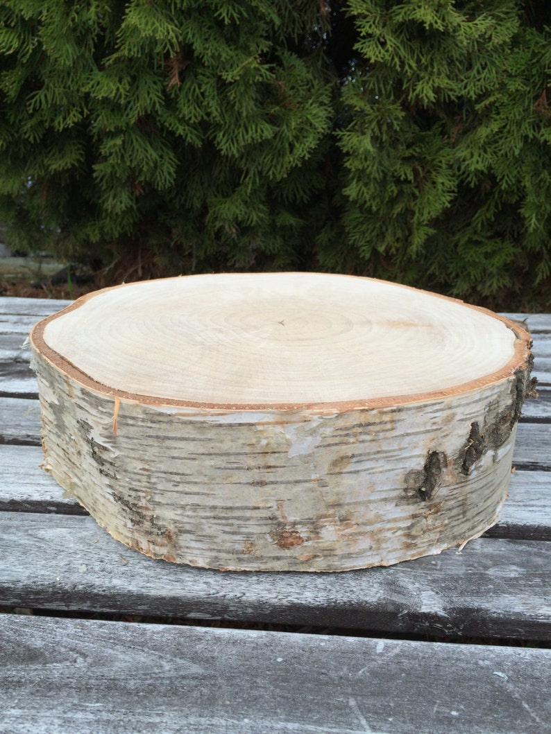 Super Large Birch Log Wood Rustic Slab Cake Cupcake Stand Wedding Party Shower Wooden Ibusinesslaw Wood Chair Design Ideas Ibusinesslaworg