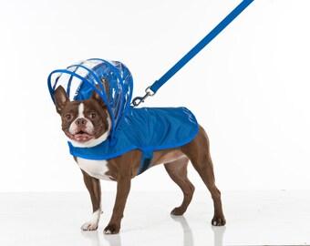 775bc553640 Dog Raincoat - Royal Blue - Rainbow Line
