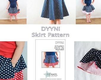 BUNDLE: Dyyni Skirt Pattern & Hiekka Wrap Skirt Pattern 2y - 16y