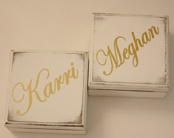 Bridesmaid Proposal ,Bridesmaid Box, Will You Be My Bridesmaid Box,Bridesmaid Gifts, Maid of Honor Box, Rustic Wedding Gift, Box