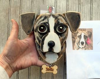 Custom Dog Ornament