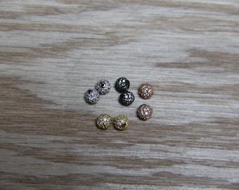 CZ Micro Pave 4 mm Perlen