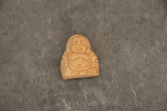 One Piece Buffalo Bone Carved Buddha Pendant