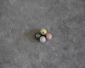 CZ Micro Pave 6 mm Runde Perlen
