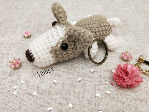 Jake the dog Amigurumi Keychain by MiaHandcrafter on DeviantArt | 428x570