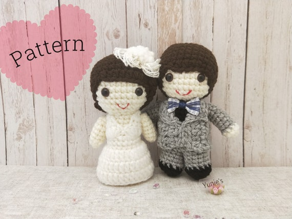 Wedding Doll Crochet Pattern : Wedding amigurumi Couple Doll ... | 428x570