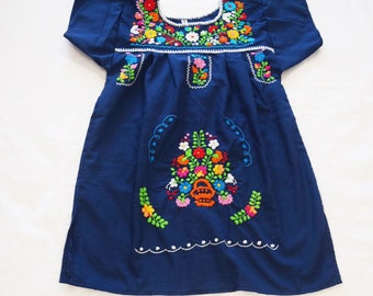 d95de8d1b95 Girls Puebla dress multiple colors