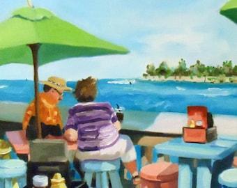Sunset Pier, Key West, Florida