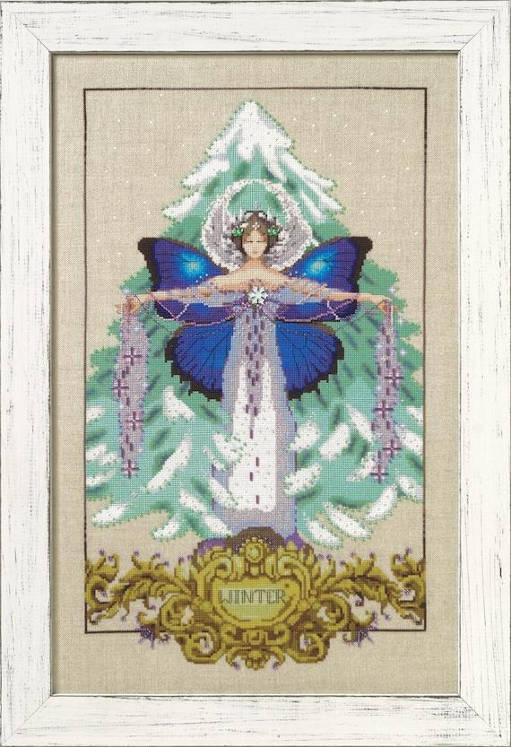 Reina Paz by Bella Filipina SALE SALE!Complete Xstitch Materials Complete Cross Stitch Materials