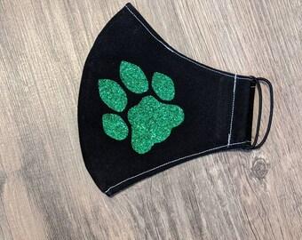 Ohio University bobcat paw mask