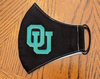 OU Ohio University mask