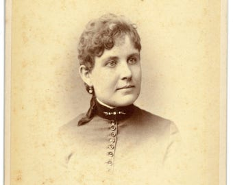 Cabinet Card of Woman