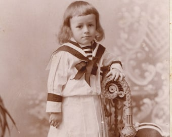 Cabinet card- cute child