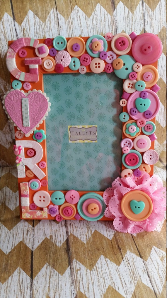 Baby Girl Picture Frame Etsy