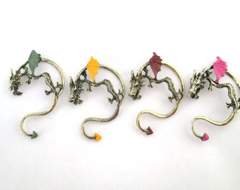 Pick your dragon ear cuff - pick your mood