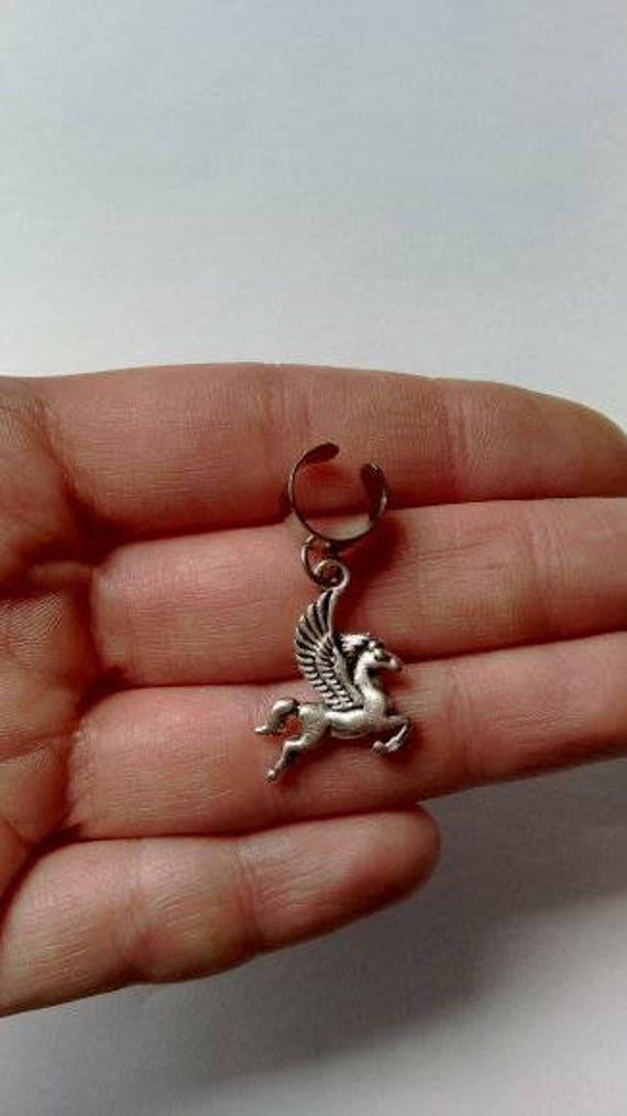 Enchanted Pegasus horse ear cuff