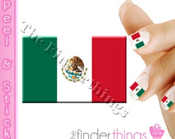 Mexican Nails Etsy