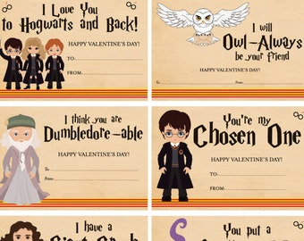 Harry Potter Anniversary Card Harry Potter Valentine S