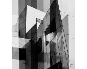 Building Gradient No. 205B - Fine Art B&W Photograph