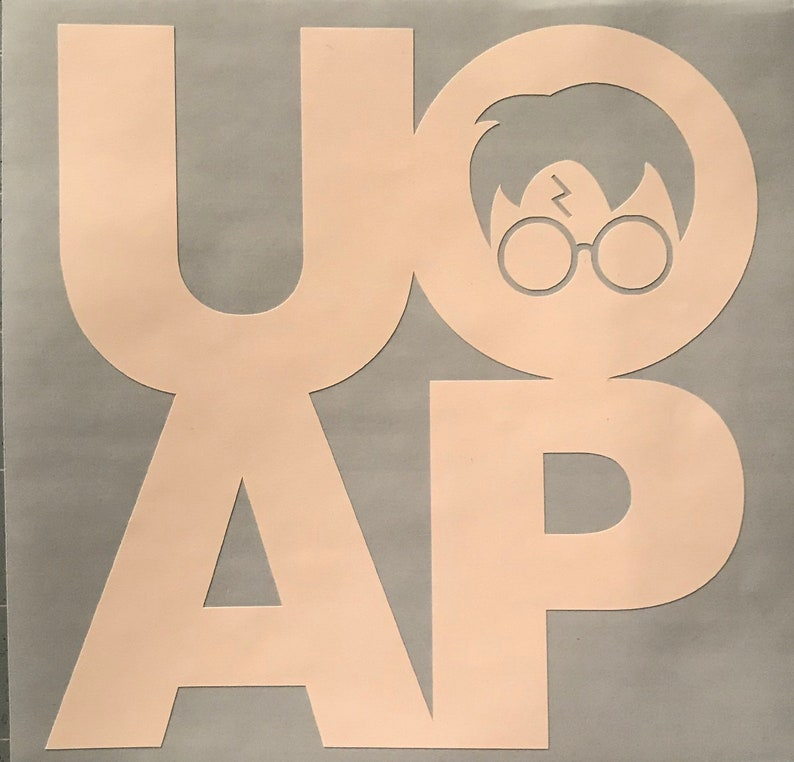 UOAP decal / free shipping / decals / window decal / potterhead / car  window / Universal / harry potter / universal studios / UOAP
