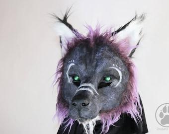 Spirit Wolf Mask - Resin