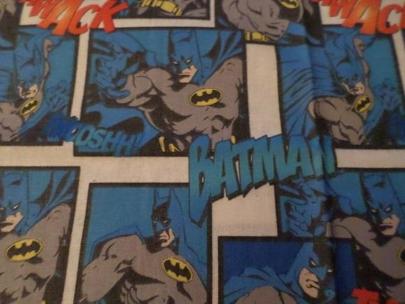 DC Comics Blue Batman Comic Tie Officially Licensed
