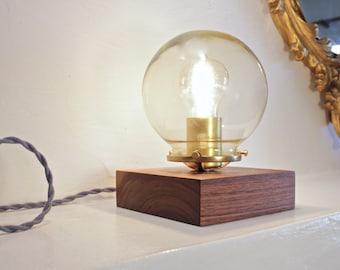 Guillamet Table Lamp- Walnut