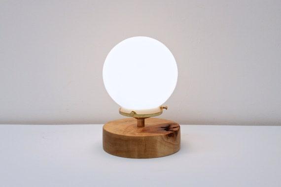 Night light desk lamp brass table lamp globe light etsy image 0 aloadofball Images