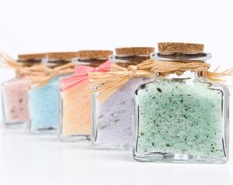 You Pick 2- Bath Salts, Scented Bath Soak-- 2 bottles-  2 oz each