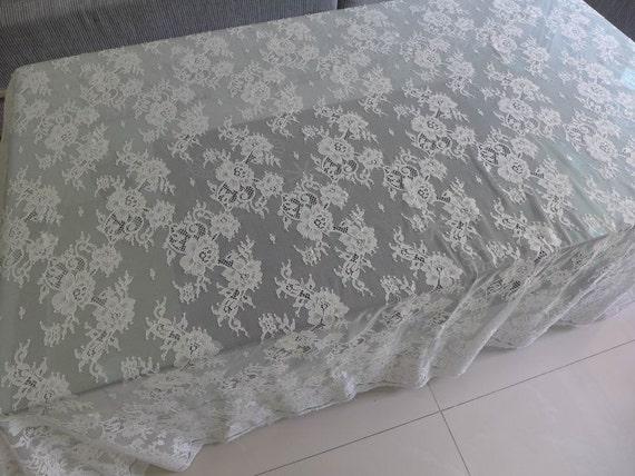verkauf chantilly spitze gewebe hochzeitskleid stoff in. Black Bedroom Furniture Sets. Home Design Ideas