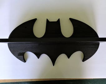 Batman Wood Wall Shelf 22 Super Hero Hand Made USA GREAT GIFT
