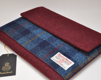 HARRIS TWEED MacBook / laptop /iPad Pro case - Chatsworth Collection