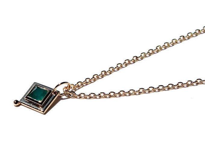 vintage style Choker with pendant