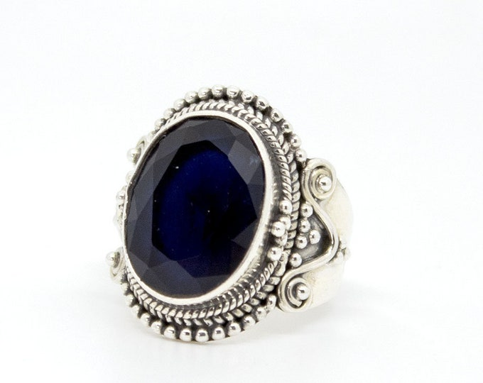 Ethnic ring with Sapphire