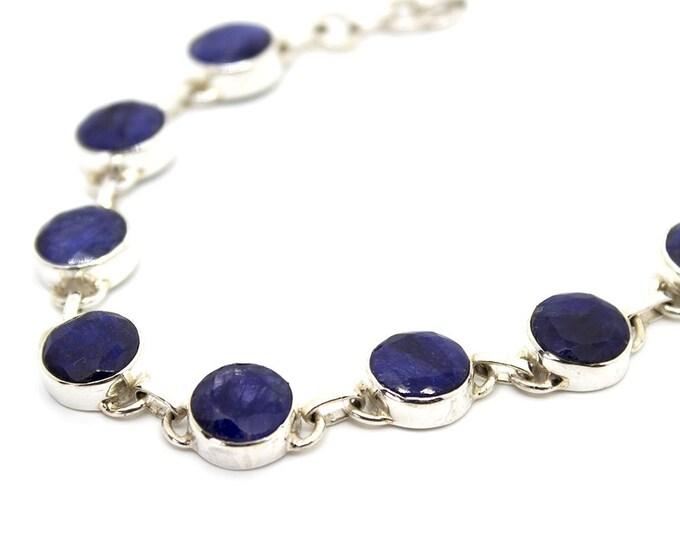 emerald - sapphire - Ruby bracelet