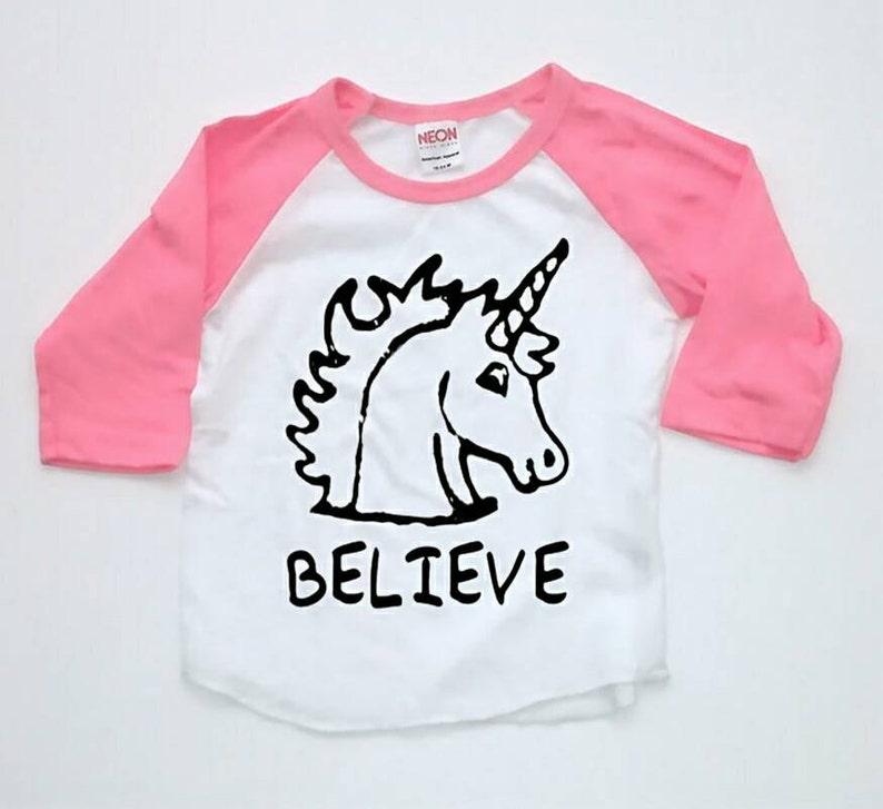 700eabe5e Unicorn Raglan Toddler Shirt Hipster kids Shirt Toddler Tshirt | Etsy