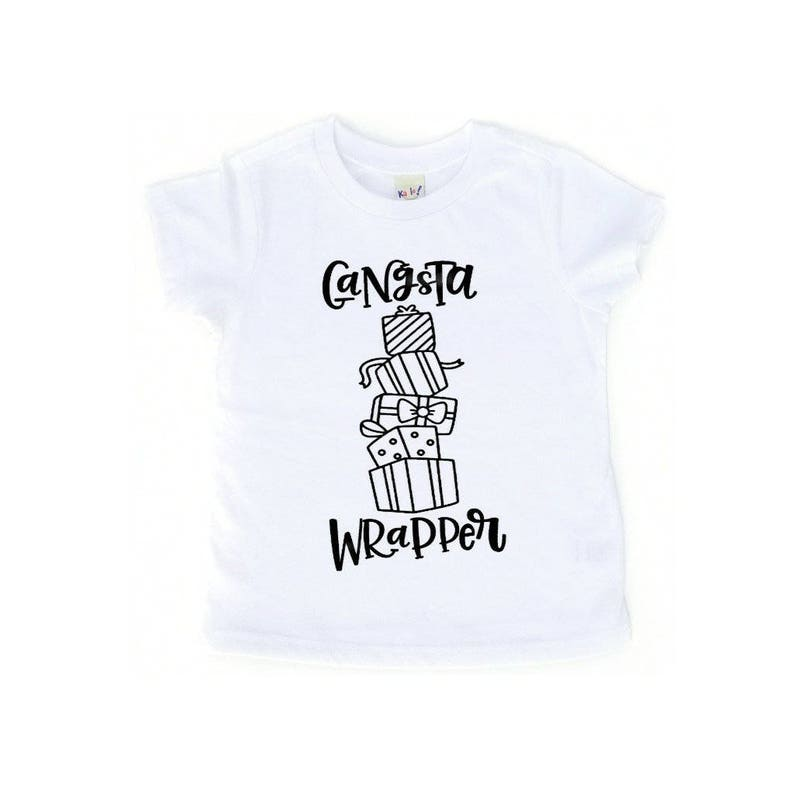 ab75f7b2e Gangsta Wrapper Toddler Shirt Baby Shirt Toddler Tee Baby Girl | Etsy