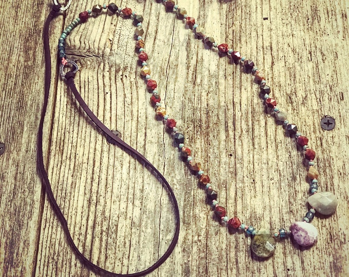 Cherry Creek Jasper Necklace