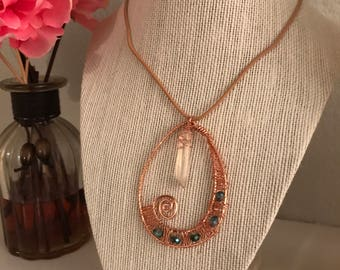 Beautiful Copper Pendant