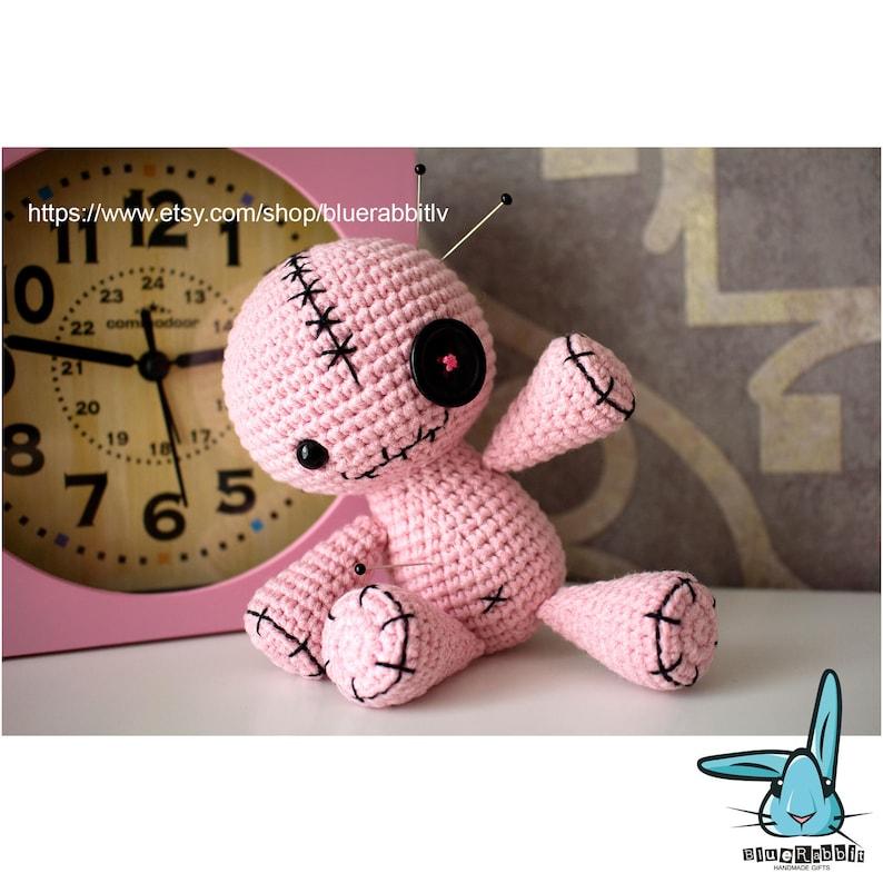 Amigurumi voodoo bunny pattern. Crochet pattern. Languages ...   794x794