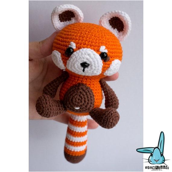 Panda häkeln - Amigurumi Anleitung für Pandabär - Talu.de | 570x570