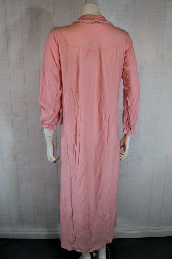 Vintage 1930's Lingerie BINSTRON Pink Bemberg Ray… - image 4