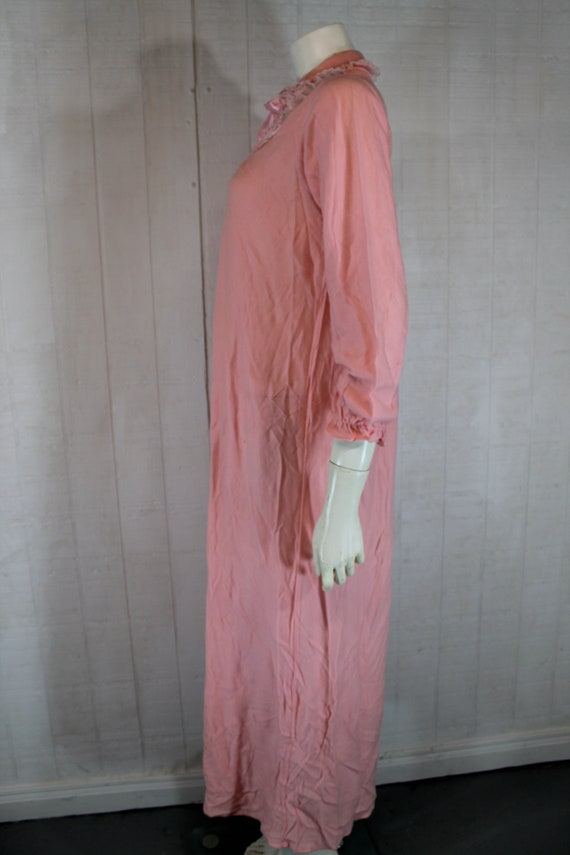 Vintage 1930's Lingerie BINSTRON Pink Bemberg Ray… - image 3