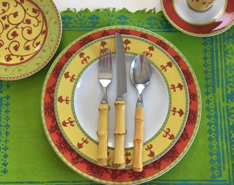 SET (31) Pieces of Rosenthal Idillio BOKHARA China Dinnerware   Designers Guild   Germany