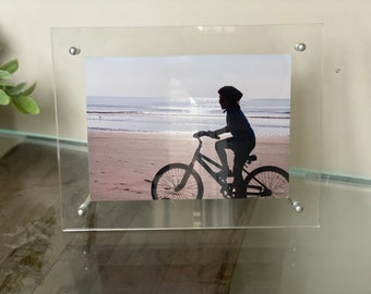 Acrylic Table Top Frame 7x9 Stand Up Picture Diploma Holder *Ready to Ship