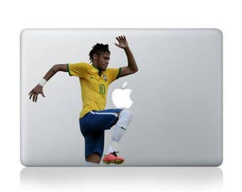 Macbook 13 inch decal sticker football single Apple art for Apple Laptop
