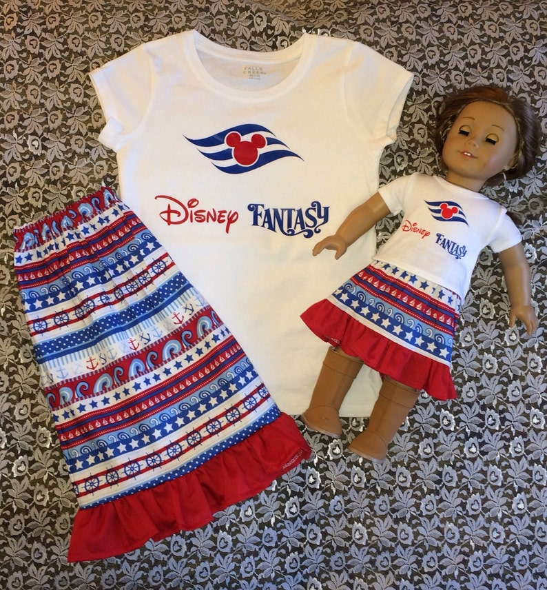 Cruise Shirts for the whole family also me and my doll options