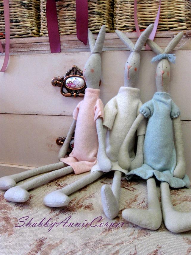 Hase Spielzeug gefüllte Hase Winter Kaninchen Tilda Hase weich | Etsy