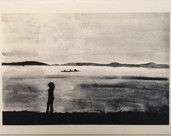 September II. Giclee art print