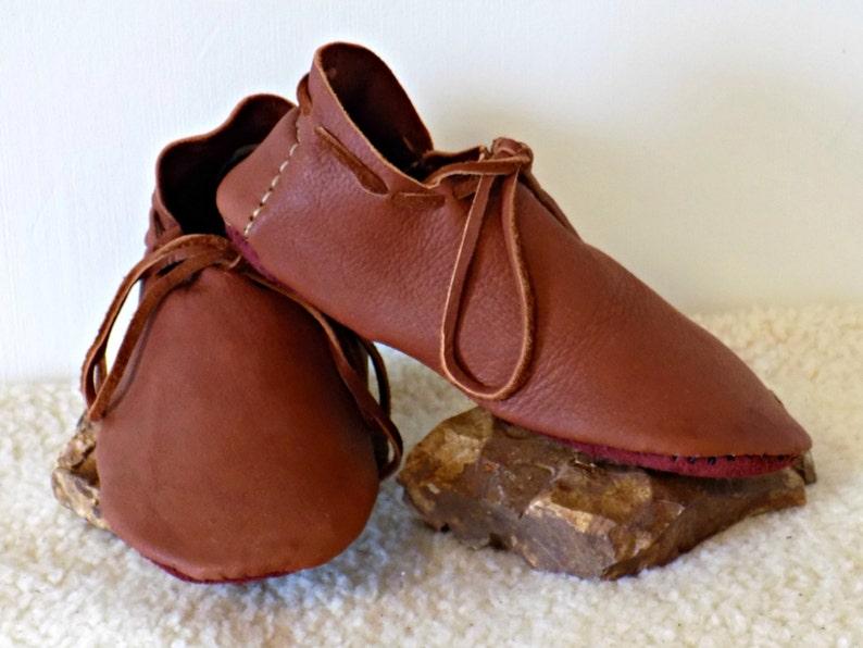 sports shoes f068e a0a05 Leder Viking Schuhe, handgemachte Elk verstecken Schuhe, benutzerdefinierte  Hand genäht auf Bestellung, natürliche Buffalo Sohle Schuhe